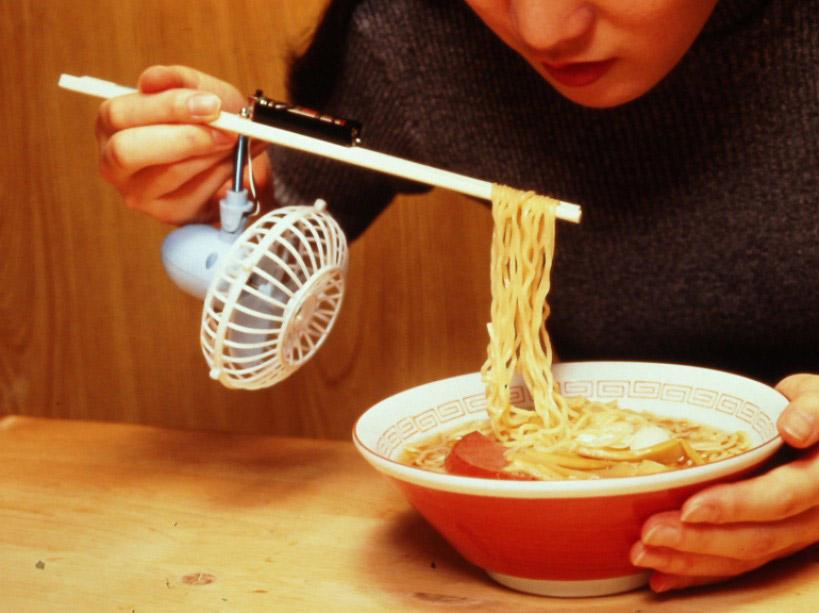 Japan's chopstick fan