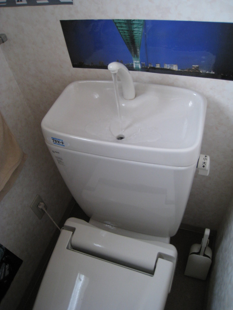 Toilet Cisterns with Sinks